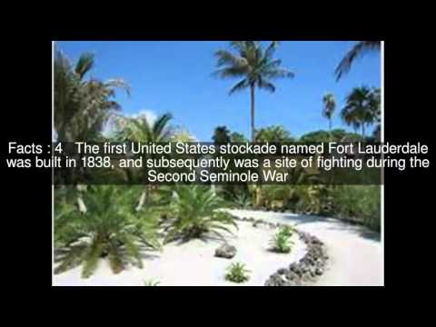 History of Fort Lauderdale, Florida Top  #13 Facts