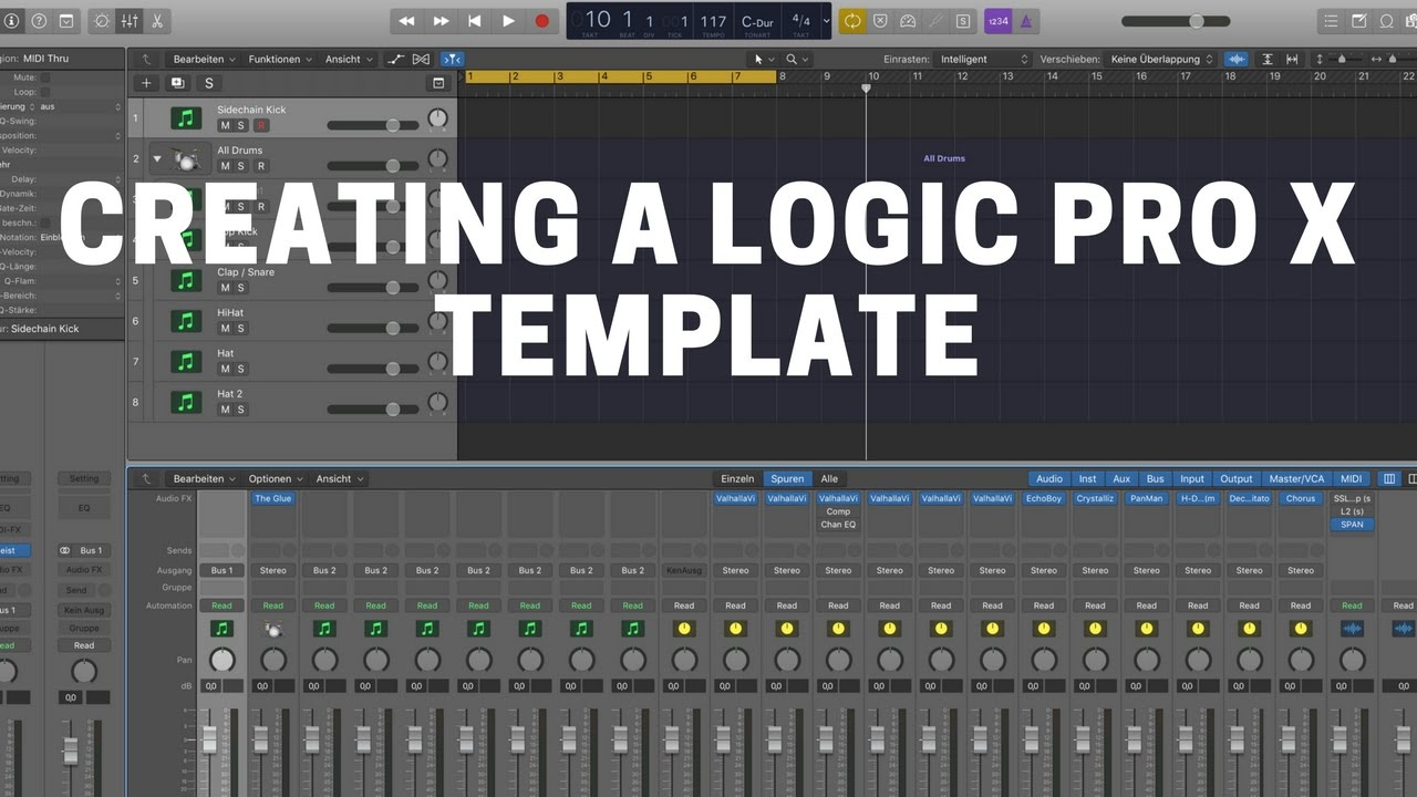 Creating A Logic Pro X Template To Speed Up Your Workflow