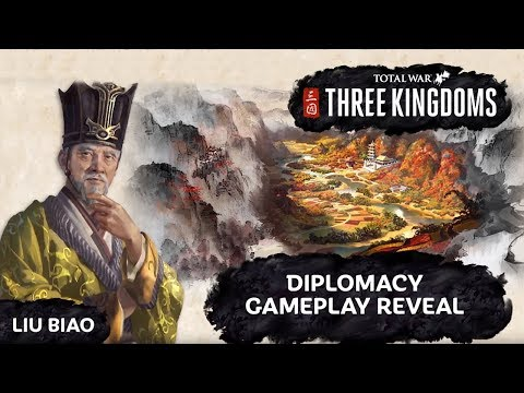 Total War: Three Kingdoms - Diplomacy Gameplay Reveal & Breakdown + First Impressions