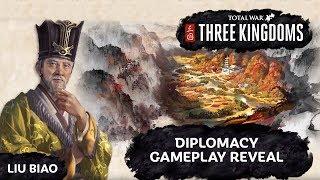 Total War: Three Kingdoms - Diplomacy Gameplay Reveal & Breakdown + First Impressions