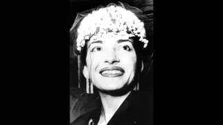 Eh Oh Guardia cosi - Wagner & Parsifal - Maria Callas