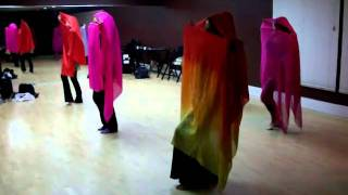 Farah's Mirage Belly Dancing Class Orange County video clip