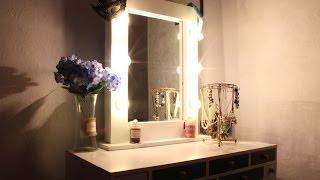 как сделать красивое зеркало своими руками