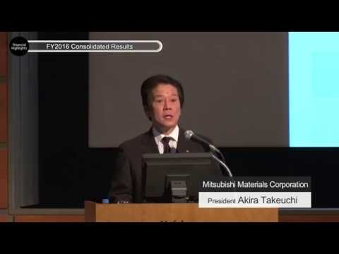 Investor Meeting (May 13, 2016)|Mitsubishi Materials Corporation