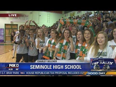 FOX 13 Pep Rally: Seminole High School