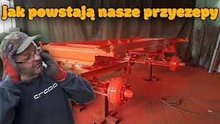 Jak Powstają Nasze Nowe Przyczepy ☆ [Vlog#55] Zabytkowe Traktory ☆Wyjazd Z Tatą