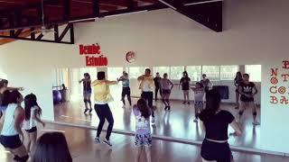 baila morena- hector y tito feat don omar coreografia Nicolas Munoz workshop