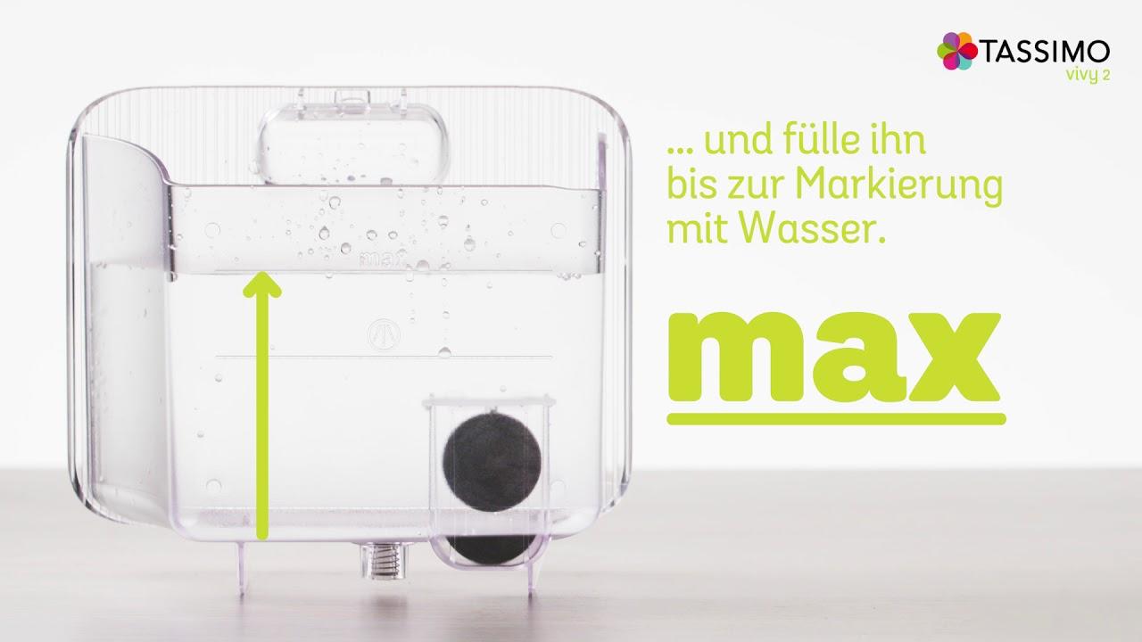 bosch tassimo vivy 2 reinigen youtube. Black Bedroom Furniture Sets. Home Design Ideas