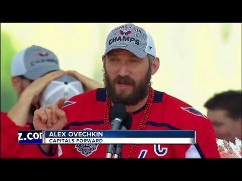Alex Ovechkin, Capitals keep partying with the people, parade in Washington