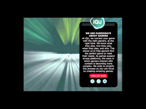 """IQU"" Mobile Tablet Magazine Ad with Animated Background l Mag+"