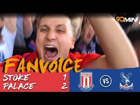 Stoke 1-2 Crystal Palace | Van Aanholt late goal relegates Stoke from the Premier League! | FanVoice
