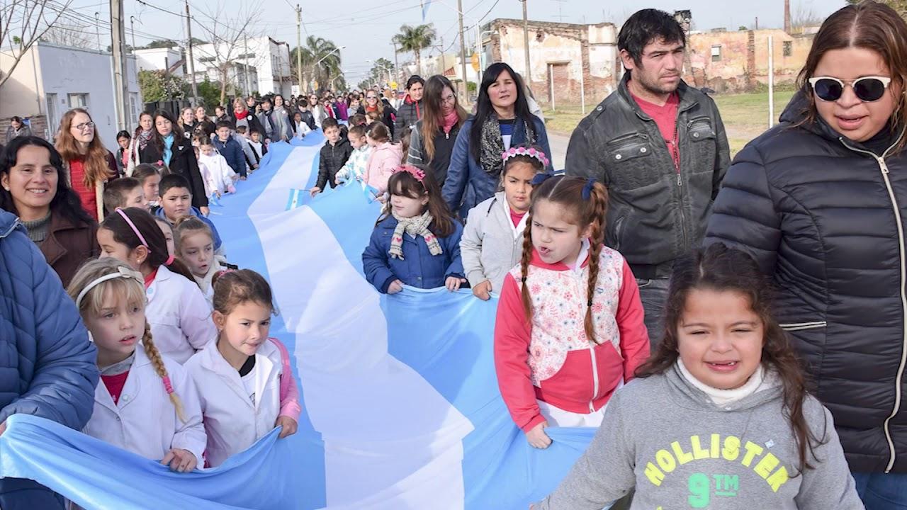 San Carlos Sud recuerda el 204º Aniversario de la Independencia Argentina
