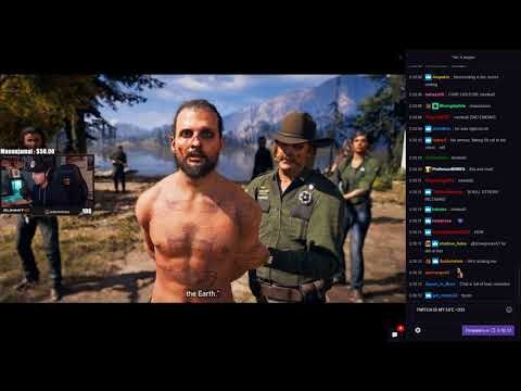 Summit1g reacts to Far Cry 5 Ending