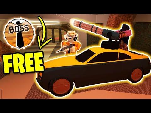 NEW Jailbreak UPDATE! FREE Boss Gamepass | BIGGEST JAILBREAK UPDATE | Roblox Jailbreak Weapon Update