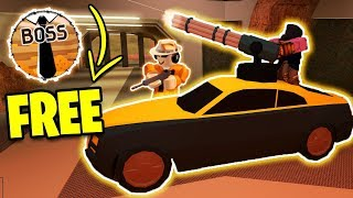 NEW Jailbreak UPDATE! FREE Boss Gamepass | BIGGEST JAILBREAK UPDATE | Roblox Jailbreak Weapon Update