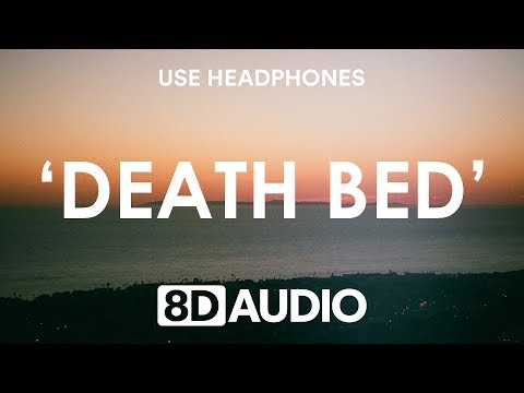 """Powfu - Death Bed (8D Audio / Lyrics) feat. Beabadoobee """"dont stay away for too long"""""""