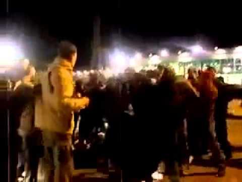 Пермь vs Екатеринбург. Массовая драка футбольных фанатов.