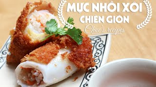 Video Mực nhồi xôi chiên giòn | Crispy stuffed squid with glutinous rice | Món ngon mỗi ngày | Ngon Plus download MP3, 3GP, MP4, WEBM, AVI, FLV April 2018