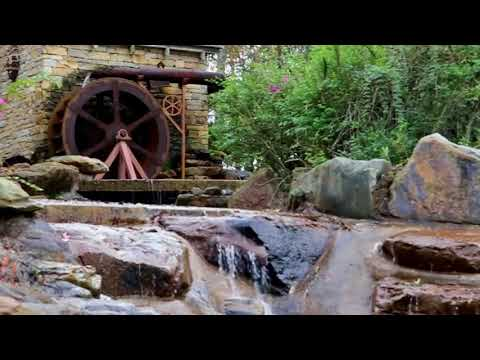 [10 Hours] Water Mill in the Woods - Video & Audio [1080HD] SlowTV