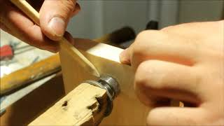 Making a Homemade Lathe -- El Yapımı Ahşap Torna Makinası