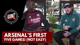 Arsenal's First Five Games! (Not Easy) | All Gunz Blazing Podcast Ft DT