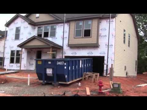 Как Построить Каркасный Дом. Обзор Каркасных Домов в США Северная Каролина. 4