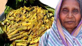 Kochur Lati Paturi Recipe | Cooking Delicious Village Food Recipes | Grandmother Recipes