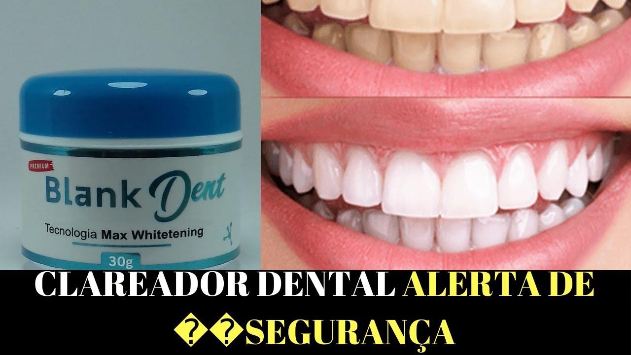 Como Branquear Os Dentes Blank Dent Clareador Dental Youtube
