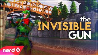 Fortnite Funny Moments | THE INVISIBLE GUN! | #NerdOut (Stream Highlights #4)