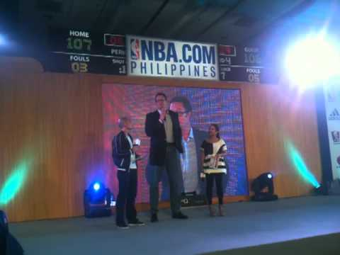 Luc Longley - NBA Philippines Website Launch