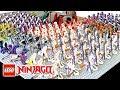 LEGO Ninjago Serpentine Army Fangpyre Constrictai Hypnobrai Venomari Anacondrai & The Great Devourer