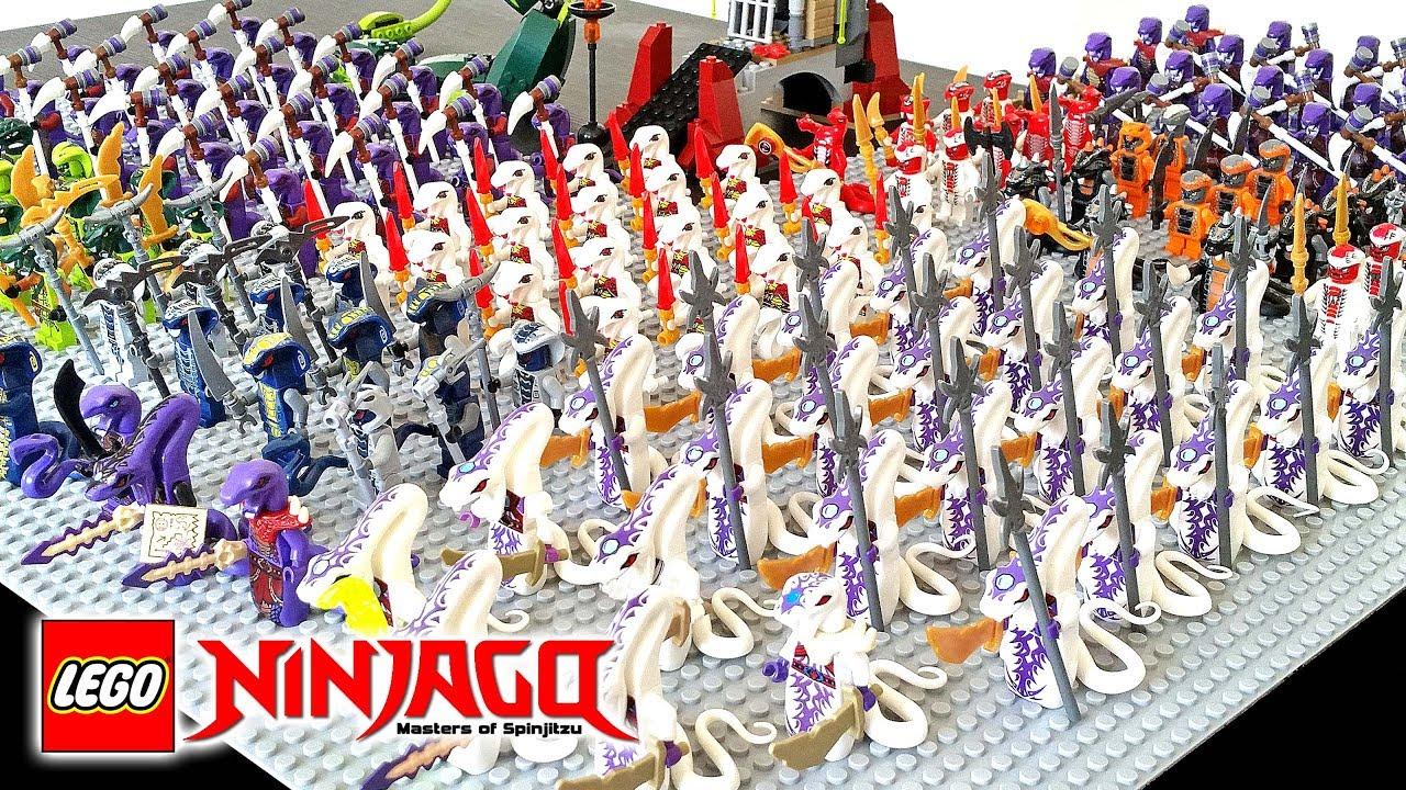 Lego Ninjago Serpentine Army Fangpyre Constrictai