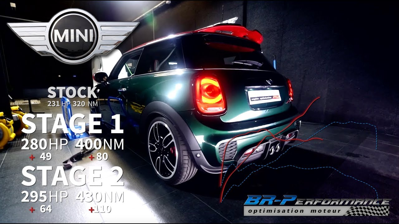 Mini Cooper F56 S 20t Jcw Stage 1 2 With Pops Bangs By Br