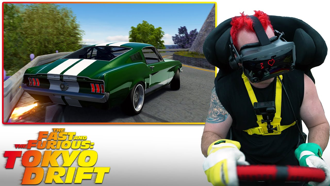 Drifting the RB26 Ford Mustang from Tokyo Drift!