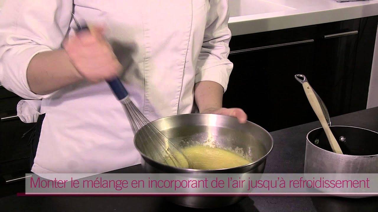 Cap Cuisine Les Desserts Realiser Une Creme Au Beurre Youtube