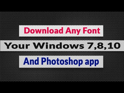 how to add fonts to photoshop cc - Myhiton