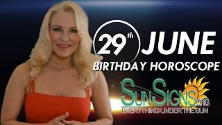 Birthday June 29th Horoscope Personality Zodiac Sign Cancer Astrology