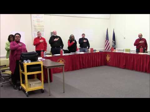 Bridgeport Spaulding School Board Meeting  January 8th, 2018