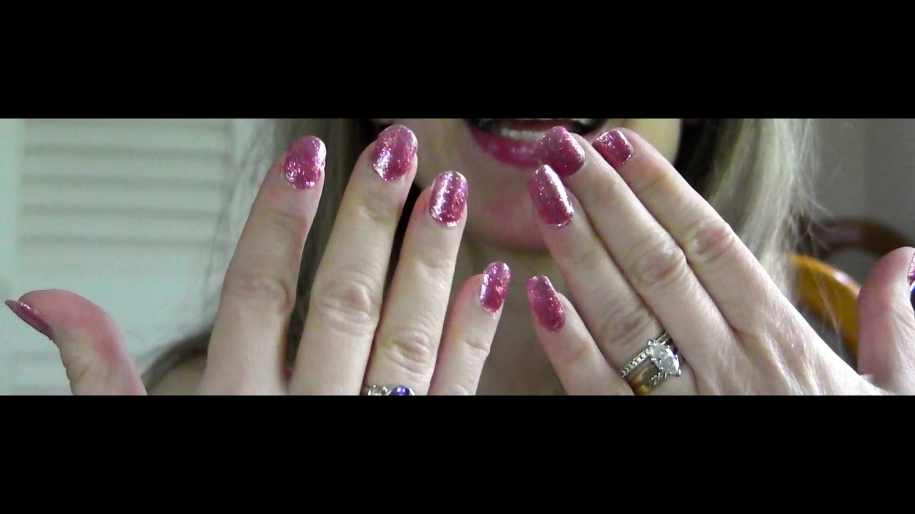 EASY How to Apply Sally Hansen Salon Effects Nail Polish Strips Tips ...