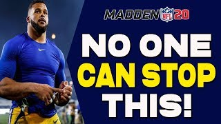 UNSTOPPABLE Blitz In Madden 20!! Force Ragequits With Instant Heat!!