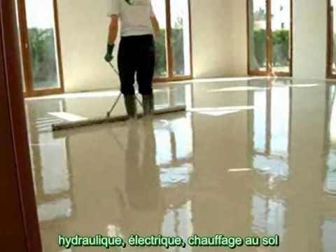 chape fluide anhydrite ciment par chapes solutions et. Black Bedroom Furniture Sets. Home Design Ideas