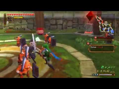 Hyrule Warriors -- Skyward Sword: Chapter 5c, Land in the Sky