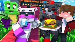 Minecraft FNAF 6 Pizzeria Simulator - HELPY'S DAY OFF! (Minecraft Roleplay)