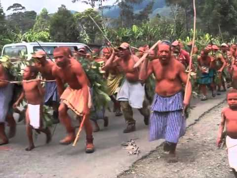 Papua New Guinea Tribal Fighting