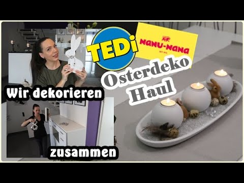 Wir dekorieren zusammen/Osterdeko und bastel Haul/Mel´s Kanal