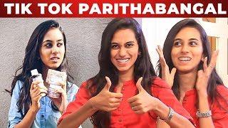 """TIK TOK Trend Poiduchu "" – Tik Tok Fame Akshaya Opens Up | What'sapp With Venkat"