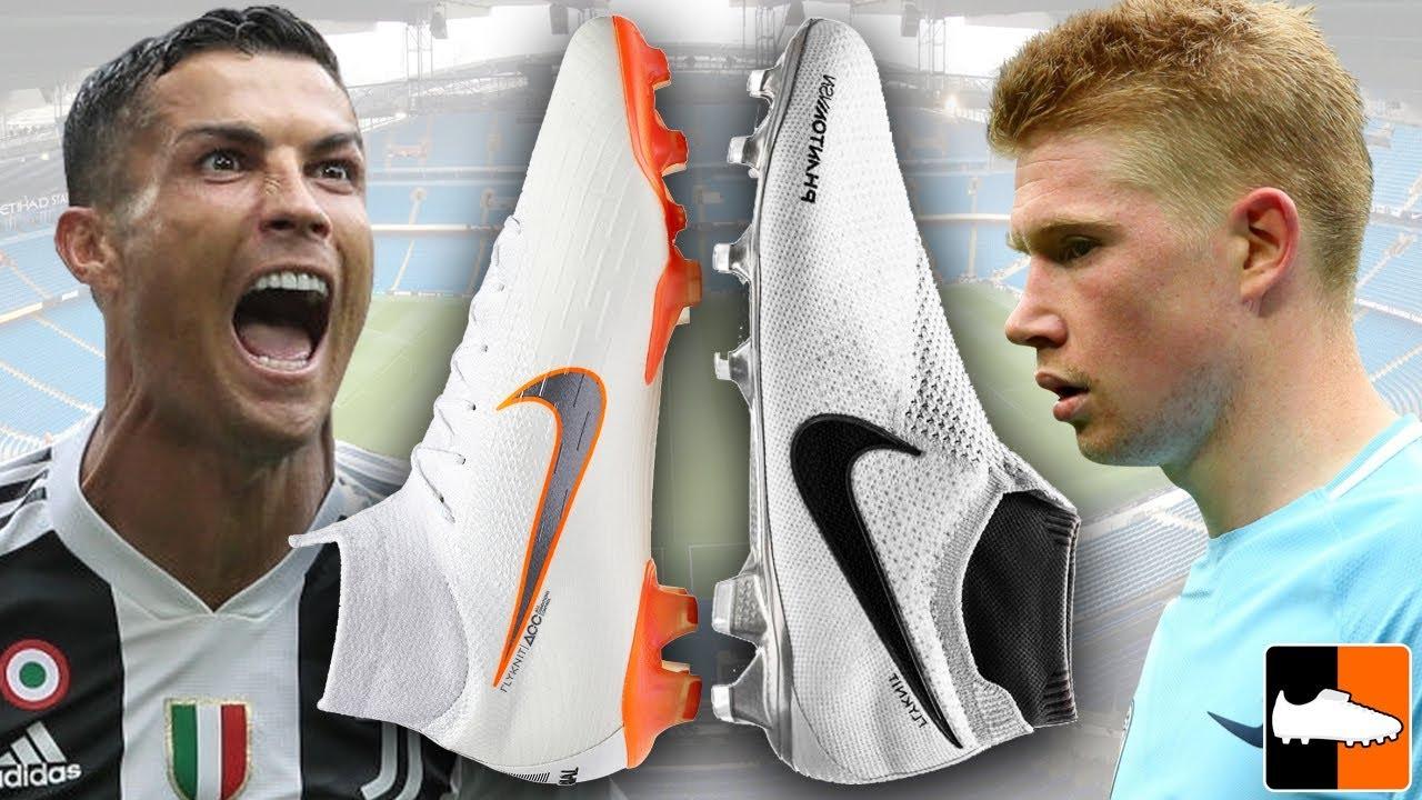 Is Phantom VSN Better Than The Superfly?! Ronaldo vs De Bruyne Boots