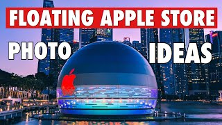 Floating Apple Store Photography Ideas | Singapore Apple store Grand Opening