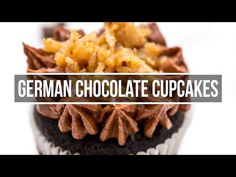 Best German Chocolate Cupcake Recipe