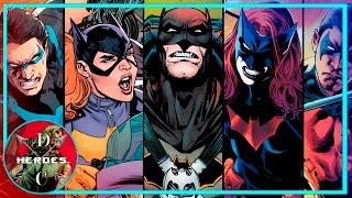 24 Защитника Готэма. ВСЕ, кто защищал Готэм [ Кроме БЭТМЕНА]. Batman. Dc Comics.
